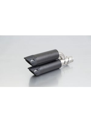 RSC Dual Flow, slip on incl. Heat protecting shield, carbon