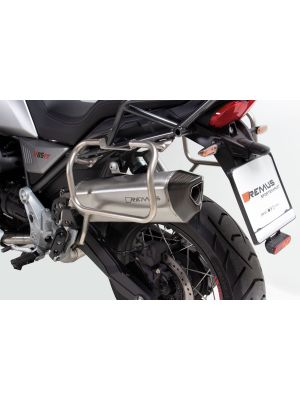 BLACK HAWK RACING Slip on (sport exhaust with removable sound insert), Stainless steel, NO (EC-) APPROVAL