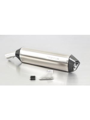 HEXACONE, slip on (muffler) for BMW F 800 R and F 800 GT, titanium, incl. EC homologation