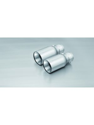 tail pipe set left/right each 1 tail pipe Ø 90 mm straight
