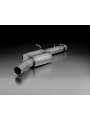 Racing front silencer, without homologation