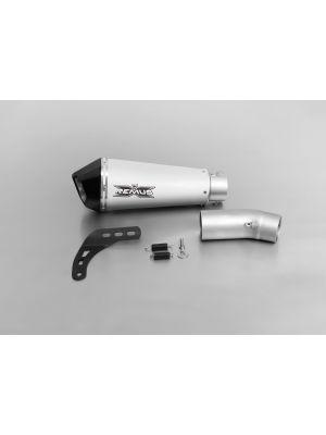 HYPERCONE, slip on (muffler with connecting tube), titanium , 65 mm
