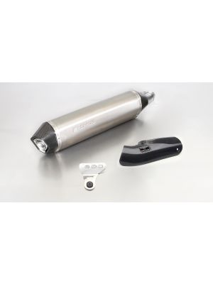 HEXACONE, slip on (silencer) incl. Carbon heat protecting shield, titanium, EEC,