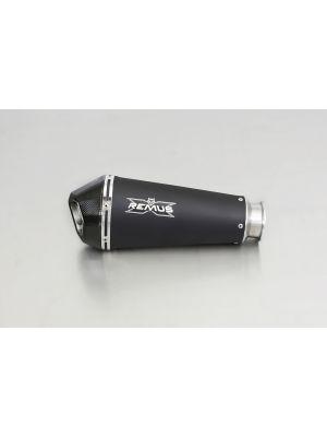 HYPERCONE, slip on (muffler), stainless steel black, incl. EC homologation