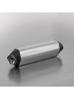 HEXACONE, slip on (muffler with connection tube), stainless steel, EEC