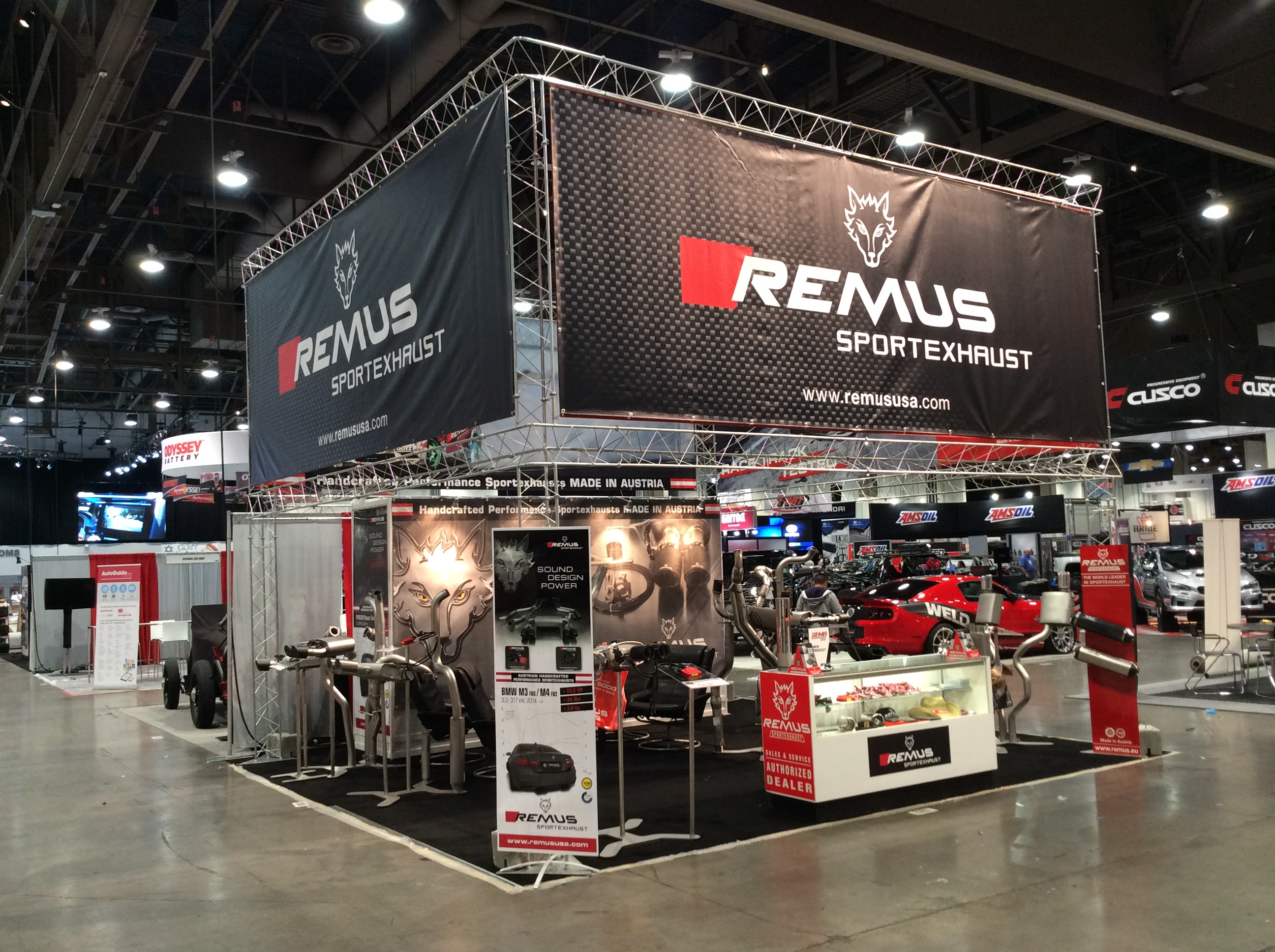 The 2017 Sema Show Runs From 3rd To 6th Of November And In Racing Performance Hall Stand 24823 Remus Shows Off Latest Sportexhaust